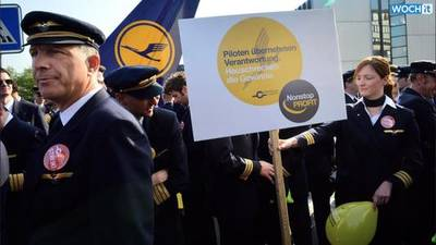 News video: Lufthansa Cancels 1,450 Flights Due To Pilots' Strike