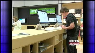 News video: Apple store in Rushmore Mall