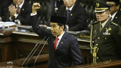 News video: Indonesia's Joko Widodo Sworn In as President